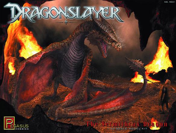 Vermithrax Dragon Preassembled Model Kit
