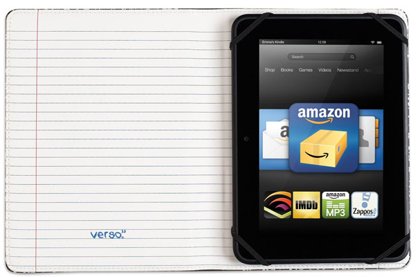 Verso Trends Scholar Notebook Case for Kindle Fire HD