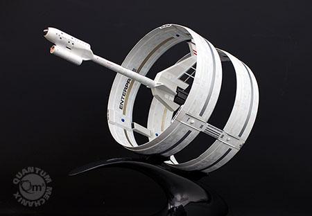 Very Limited-Edition Star Trek Enterprise Ring Ship Artisan Replica