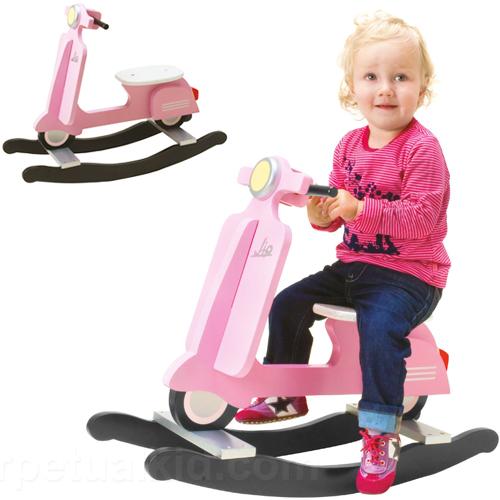 Vespa Scooter Retro Rocker Pink