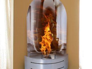 Vesta Liquid Fuel Fireplace