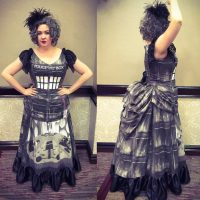 Victorian Doctor Who TARDIS Dress