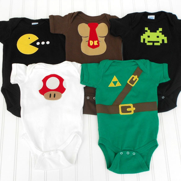 Video Gamer Deluxe Set Onesies