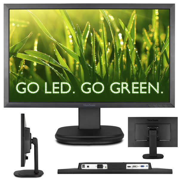 ViewSonic VG2439M LED 24-Inch Screen Monitor