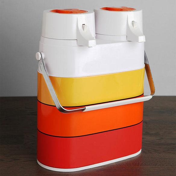 Vintage Double Thermos