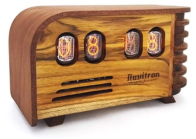 Vintage Nixie Tube Clock