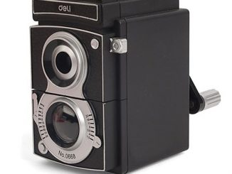Vintage Reflex Camera Pencil Sharpener