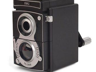 Vintage Reflex Camera Pencil Sharpener