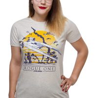 Vintage Rogue Flame Trooper Ladies Tee