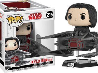 Pop! Vinyl Star Wars Last Jedi Kylo Ren in TIE Fighter