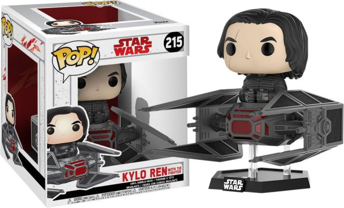 Pop! Vinyl Star Wars Last Jedi Kylo Ren in TIE Fighter