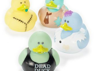 Zombie Rubber Duckies
