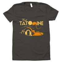 Visit Tatooine Ladies TShirt