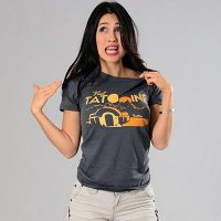 Visit Tatooine Womens T-Shirt