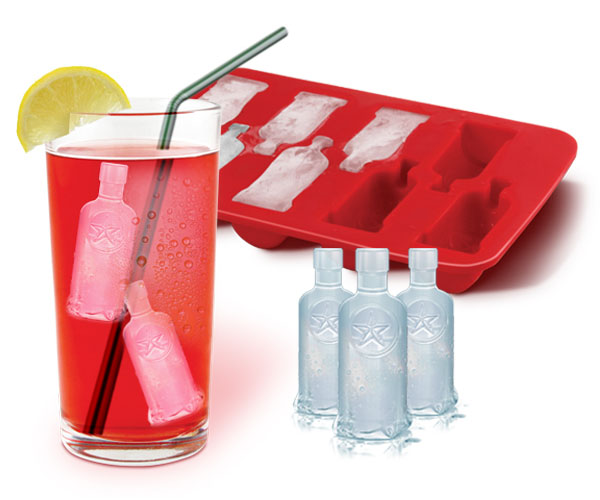 Vodka Bottle Ice Tray