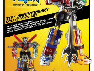 Voltron 30th Anniversary Die-Cast Light-Up Action Figure with Sound