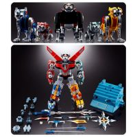 Voltron: Defender of the Universe GX-71 Voltron Soul of Chogokin Die-Cast Metal Action Figure