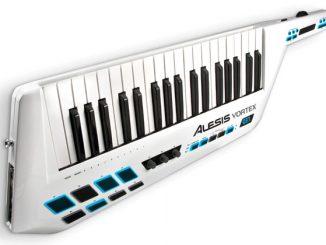 Vortex USB MIDI Keytar Controller with Accelerometer