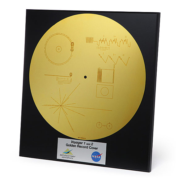 Voyager Golden Record Sleeve Wall Art