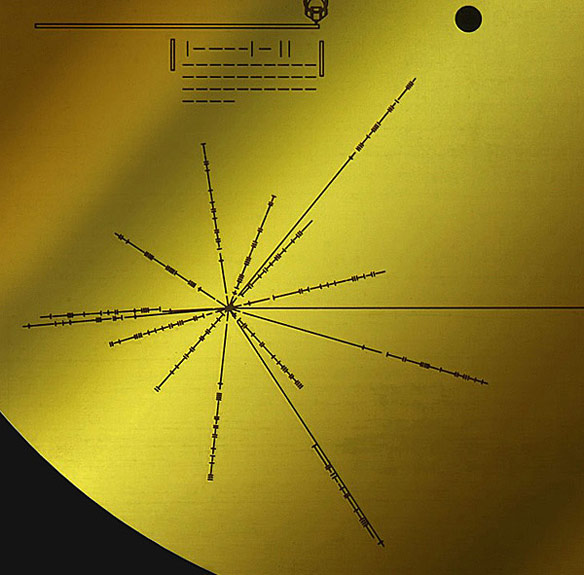 Voyager Golden Record Sleeve
