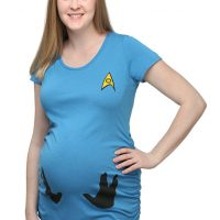 Vulcan on Board Ruched Maternity Tee