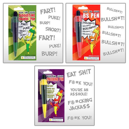 Vulgar Pen Package