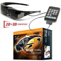 Vuzix Wrap 310XL Video Eyewear Giveaway