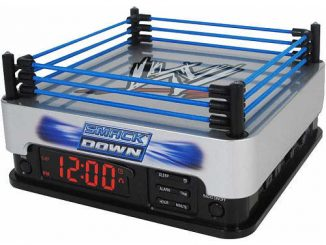 WWE Smackdown Alarm Clock Radio