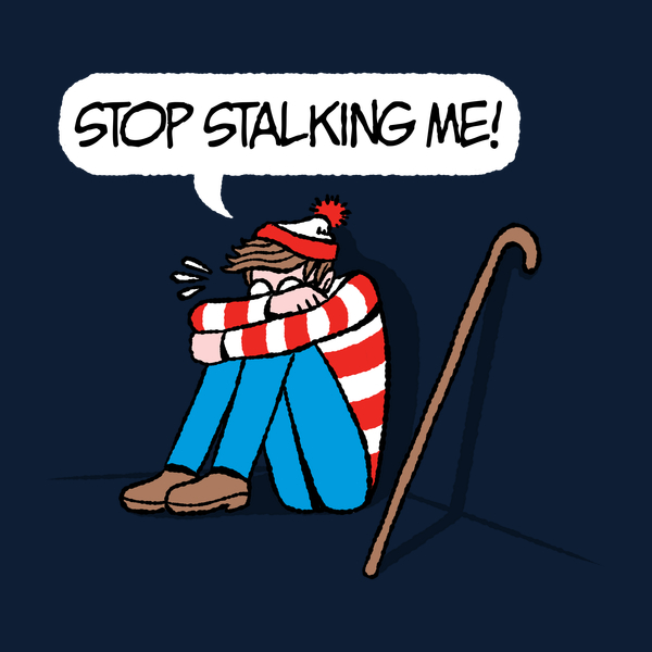 Waldo Striped & Stalked T Shirt