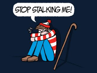 Waldo Striped & Stalked Tee
