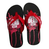 Walking Dead Blood-Splatter Flip Flops