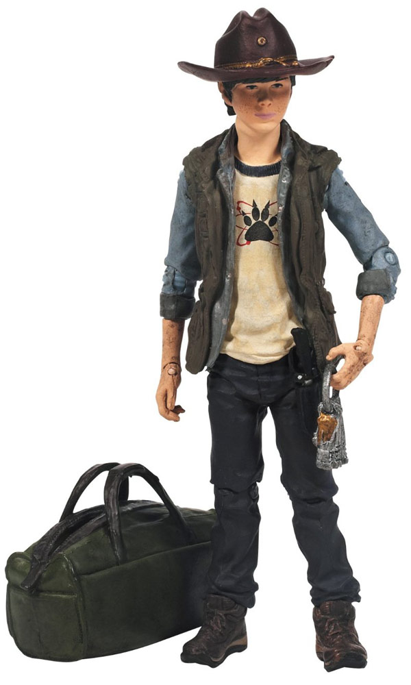Walking Dead Carl Grimes Action Figure