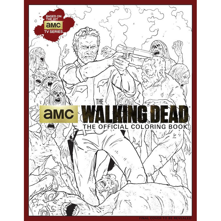 The walking dead coloring books for The walking dead coloring pages