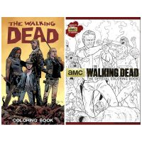Walking Dead Coloring Books