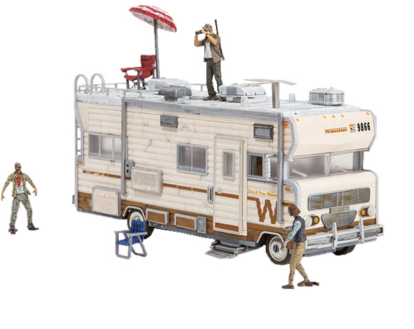 Walking Dead Dales RV Building Set