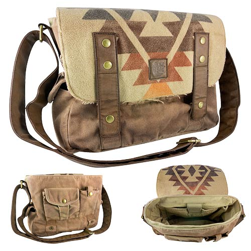 Walking Dead Daryl Dixon Poncho Messenger Bag