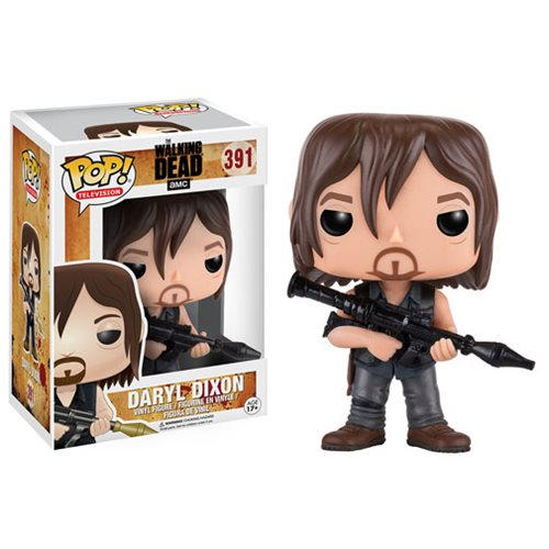 Walking Dead Daryl Dixon with Rocket Launcher Pop Vinyl Figure