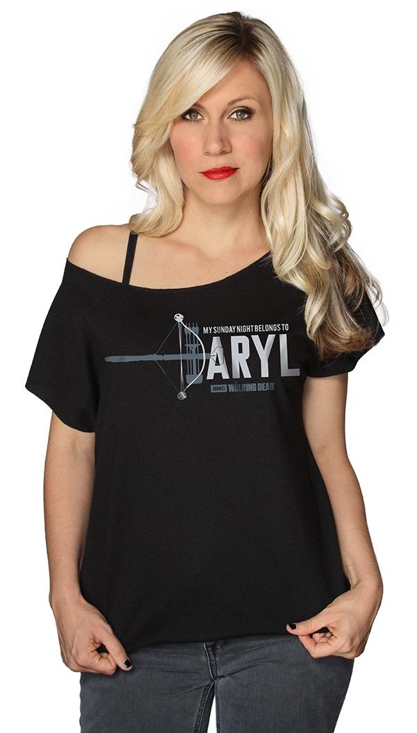 Walking Dead Daryl Ladies Shirt