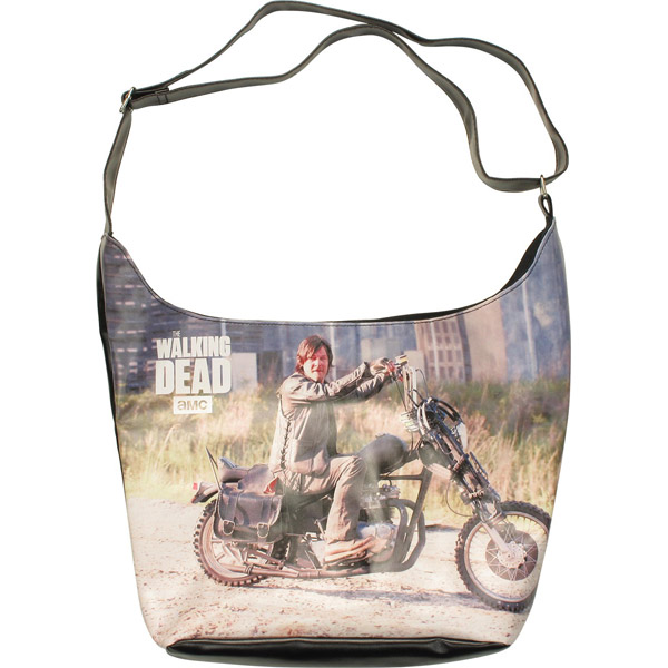 Walking Dead Daryl Motorcycle Tote Bag