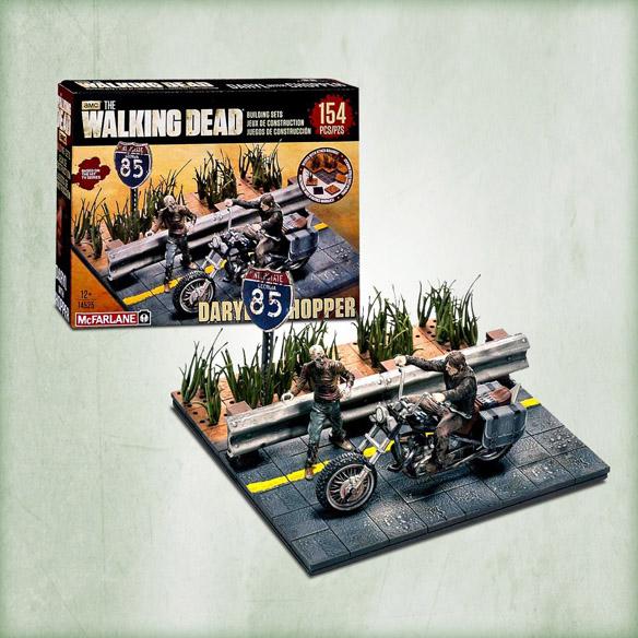 Walking Dead Daryl With Chopper Building Set