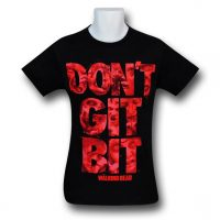 Walking Dead Dont Git Bit TShirt