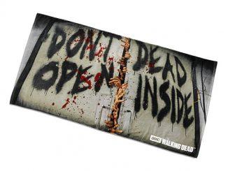"""Walking Dead """"Don't Open Dead inside"""" Beach Towel"""
