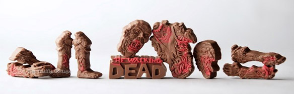 Walking Dead Edible Zombie Body Parts