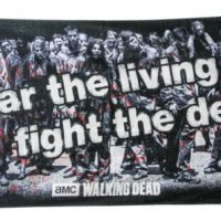 Walking Dead Fear The Living Fight The Dead Beach Towel