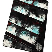 Walking Dead Fish Tank Fleece Blanket