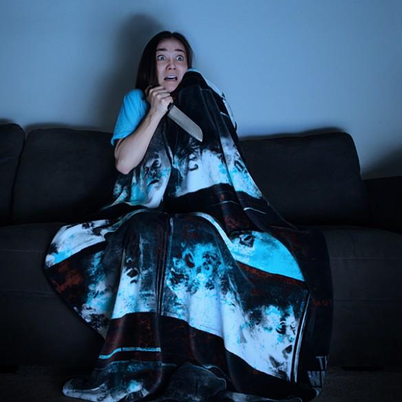 Walking Dead Fish Tank Fleece Blanket