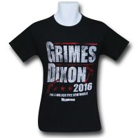 Walking Dead Grimes and Dixon 2016 Mens T-Shirt