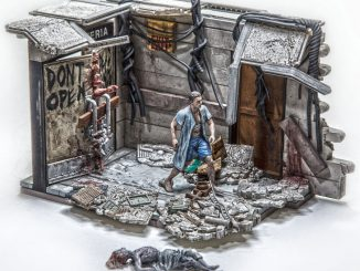 Walking Dead Hospital Doors Building Set