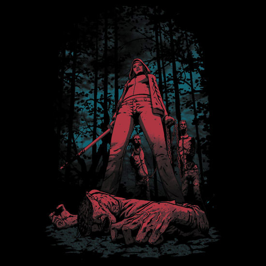 Walking Dead Huntress Shirt