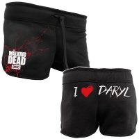 Walking Dead 'I Heart Daryl' Women's Shorts